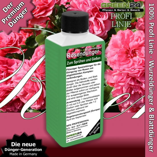 Roses Pro Universal Liquid Fertilizer 250ml