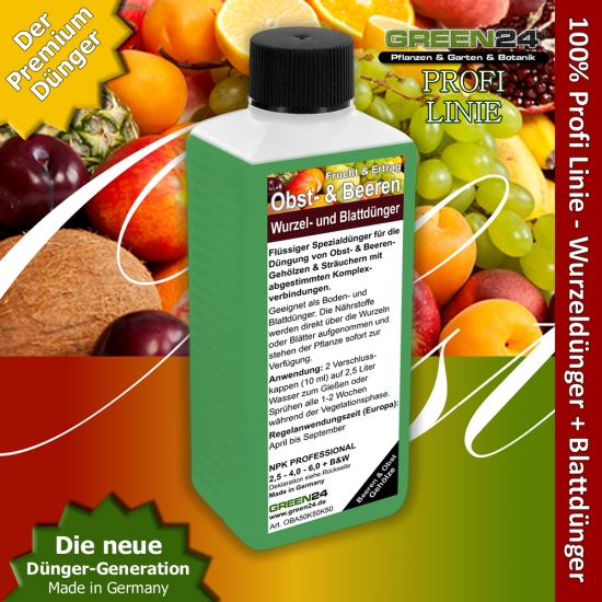 Berry & Fruit Plant Food - Liquid Fertilizer 250ml