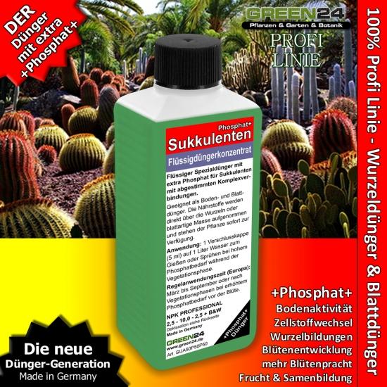 Succulent Phosphorus+ Feed - Liquid Fertilizer 250ml