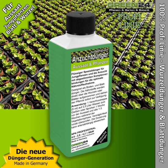 Young Plant Food for Cuttings, Seedling - Liquid Fertilizer 250ml