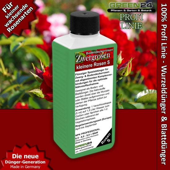 Small Roses Feed - Liquid Fertilizer 250ml
