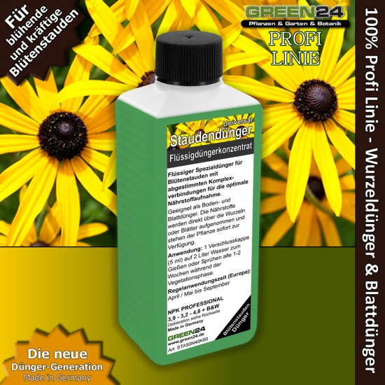 Perennial Garden Plants - Flowers - Liquid Fertilizer 250ml