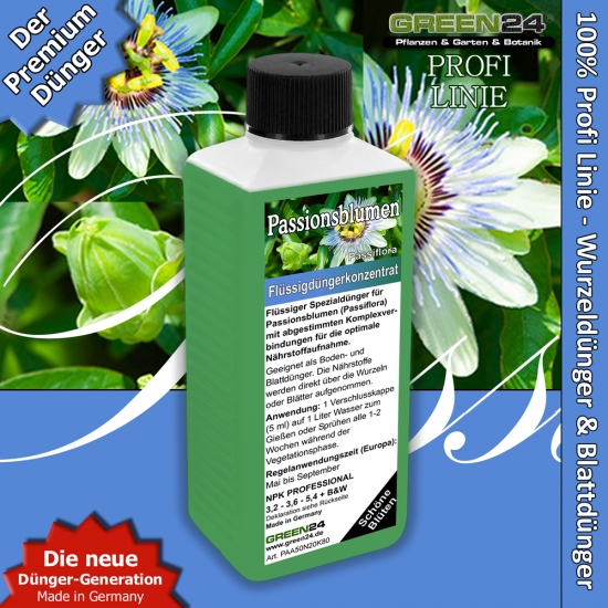 Passiflora (passion flowers or passion vines) Liquid Fertilizer 250ml