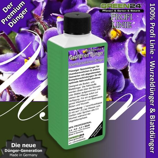 Gesneriaceae (Saintpaulias, African violets) Liquid Fertilizer 250ml