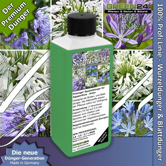 Agapanthus (African Llily, Lily of the Nile) Liquid Fertilizer 250ml