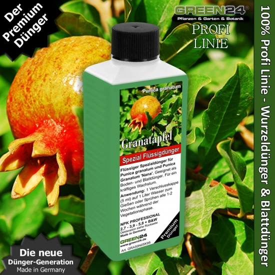 Pomegranate Liquid Fertilizer for Punica granatum 250ml