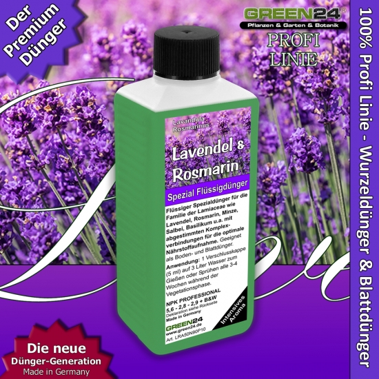 Lavender & Rosemary - Lamiaceae- species - Liquid Fertilizer 250ml