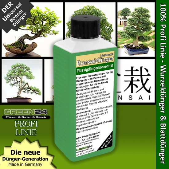 Bonsai Universal Liquid Fertilizer 250ml