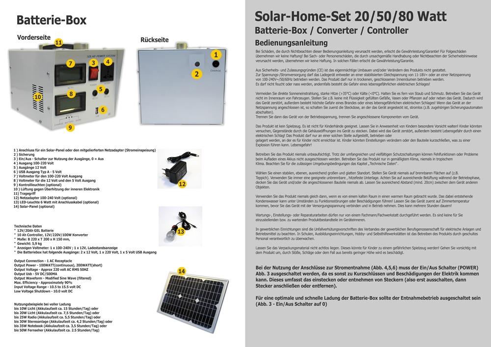 solaranlage 12 bis 220 volt mobilset 20 schwimmbad und saunen. Black Bedroom Furniture Sets. Home Design Ideas