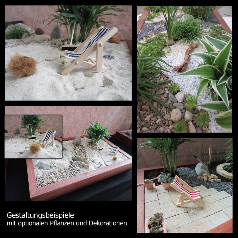 minigarten einen miniatur zimmer garten gestalten. Black Bedroom Furniture Sets. Home Design Ideas