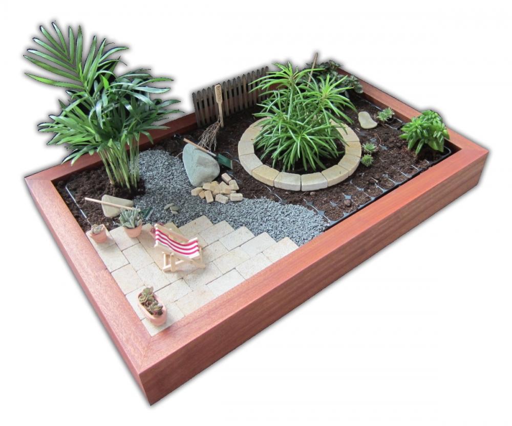 minigarten - einen miniatur zimmer-garten gestalten - pflanzen, Garten und Bauen