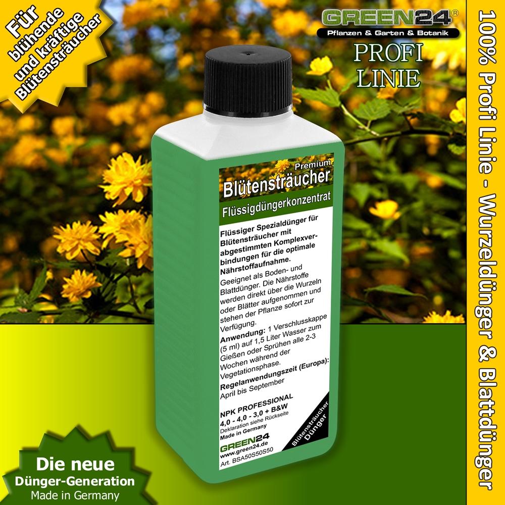 Blütenstrauch Gartenstrauch Dünger 250ml