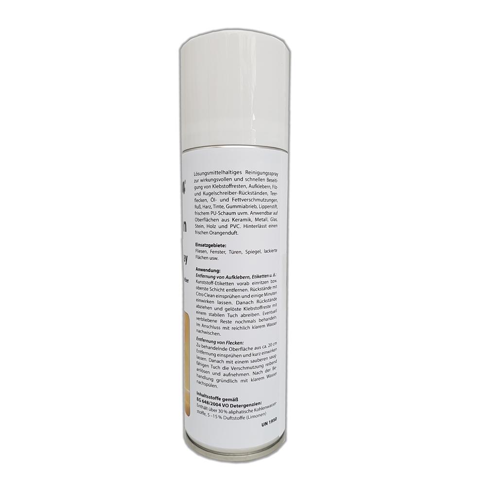 Profi Aufkleber Entferner Und Klebereste Entferner Klebstoffentferner Teer Entferner Green24 Citro Clean Spray 300ml