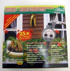 Automatisches Bewässerungssystem m. Uhr