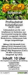 Kübelpflanzenerde Kübelsubstrat 10 Ltr.