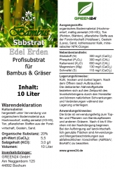 Bambuserde Bambus-Substrat 10 Ltr.