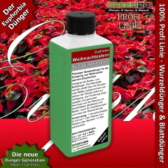 Poinsettia (Euphorbia pulcherrima) Liquid Fertilizer 250ml
