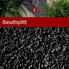 Basaltsplitt extra fein, Dekosplitt 1 kg