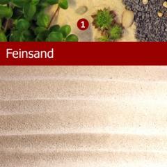 Feinsand, Strandsand, Dekosand 1kg