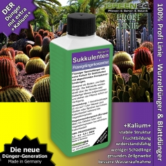 Succulent Potassium+ Feed - Liquid Fertilizer 250ml