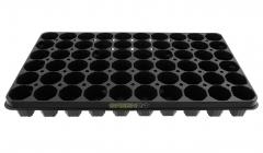 Anzuchtplatte-Topfplatte 60 Töpfe extra stabil (53,0 x 31,0 cm) (Typ G24)
