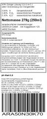 Arum (Arum lilies) Liquid Fertilizer 250ml