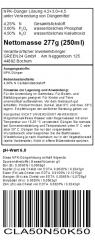 Clivia Plant Food (Kaffir lily, Bush lily) 250ml