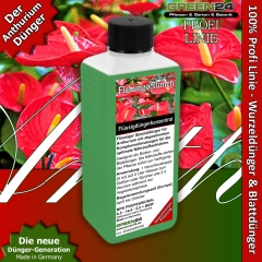 Anthurium Dünger für Flamingoblumen, Anthurien 250ml