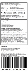 Walnut Liquid Fertilizer for Juglans, Juglans regia, Juglans nigra 250ml