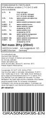 Pomegranate Liquid Fertilizer for Punica granatum 250ml