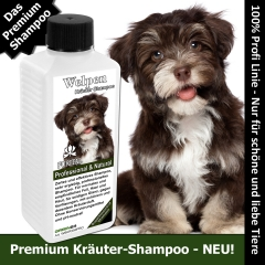 Hunde-Shampoo für Welpen 250ml Kräuter-Shampoo Premium