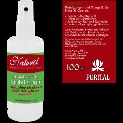 Naturöl 100ml Spray Pflegt & schützt Metall Holz Leder Kunststoffe