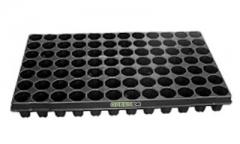 Anzuchtplatte Premium 84 Töpfe rund, flache Ausführung
