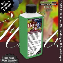 Fall/Autumn & Winter Liquid Fertilizer 250ml - Resistibility during frost periods