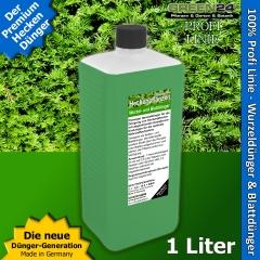 Heckenpflanzen Dünger Supreme XL 1 Liter für Laubhecken und Immergrüne Hecken