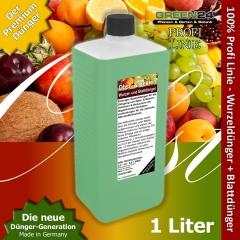 Obstbaum Beerenstrauch Dünger XL 1 l Zum düngen von Obst und Beeren NPK Volldünger