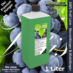 Weinreben-Dünger XL 1 l Vitis NPK für Pflanzen in Beet und Kübel als Volldünger flüssig