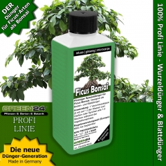 Ficus Bonsai Liquid Fertilizer 250ml for Ficus ginseng, retusa, microcarpa