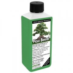 Ficus Bonsai Liquid Fertilizer 250ml for Ficus ginseng, retusa, microcarpa