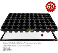 Anzuchtset Pro, automatische Bewässerung (53,0 x 31,0 cm) (Typ G24)
