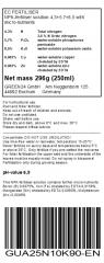 Cucumber (Cucumis) & Zucchini (Cucurbita pepo) Liquid Fertilizer 250ml