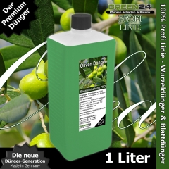 Olive Tree Liquid Fertilizer for Olea europaea, Olea sylvestris XL 1 Liter