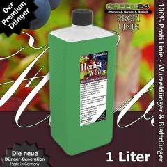 Herbst- + Winter-Dünger - Kalium+ XL 1 Liter - Kaliumdünger für bessere Winterhärte der Pflanzen