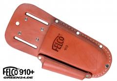 FELCO 910+ PLUS Lederträger mit zusätzlicher Tasche