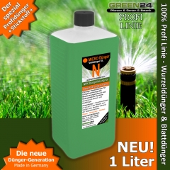 Micro+N Dünger für Düngerbeimischgeräte XL 1 Liter
