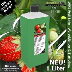 Erdbeerpflanzen-Dünger XL 1 Liter Fragaria Dünger
