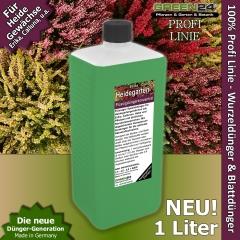 Heidegarten Dünger XL 1 Liter für Erika, Calluna NPK Volldünger