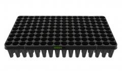 Anzuchtplatte Topfplatte 144 Töpfe extra hoch für die Anzucht von Bäumen und Tiefwurzlern (53,0 x 31,0 cm) (Typ G24)