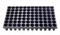 Anzuchtplatte Topfplatte 84/7,5R | 84 Töpfe rund hoch (53,0 x 31,0 cm) (Typ G24)