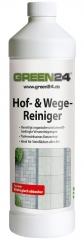 Profi Hof- und Wegereiniger 1 Liter - 200m² - Radikal Reiniger für Steinflächen aller Art
